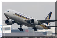 9V-SVG Boeing 777 Singapore Airlines