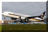 9V-SVL Singapore Airlines Boeing 777 T7
