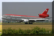 N225NW md-11 northwest airlines wallpaper