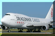 K-KAA Dragon Air Dragonair Boeing 747 CARGO